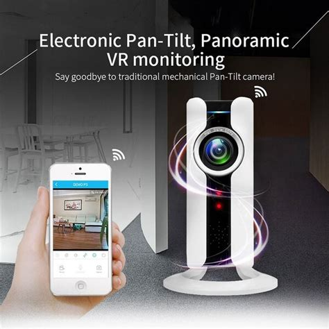 HOT SALE 720P WIFI 360¡ã Panoramic Fisheye CCTV Network Cam Home Security IP Camera