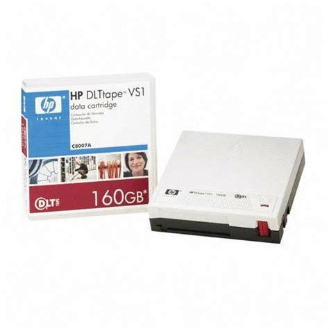 HP Refurbish-ECHO DLT-VS1 Data Tape (80/160GB) (C8007A) - Seller Refurb