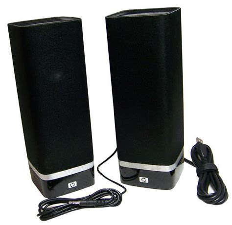 HP S-00074 USB 20 Powered Speakers 512172-001