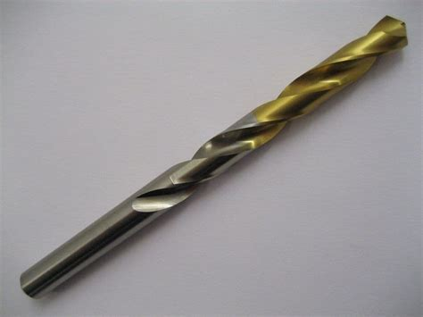 Hss Tin Coated Jobber Drill Goldex 810504 .