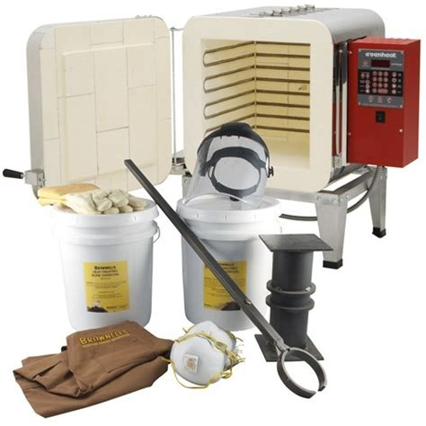 Ht-1 Heat Treat Oven And Color Case Hardening Kit Ht-1.