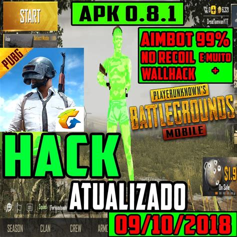 Hack No Recoil PUBG Mobile