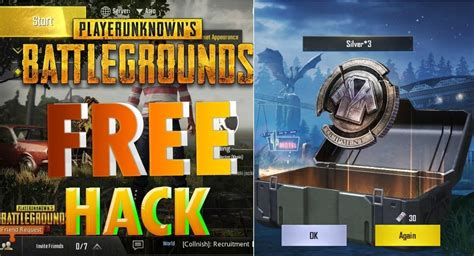 Hack Silver Fragments PUBG Mobile