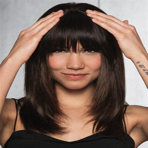 Hair Clip Bangs