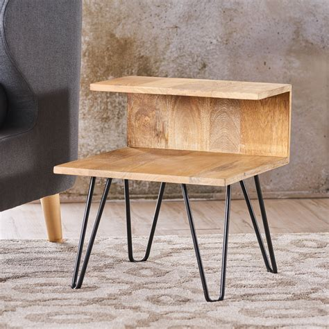 Hairpin Leg Bedside Table Diy For 3d
