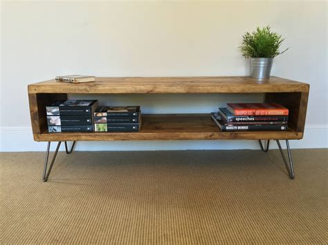 Hairpin Leg Tv Stand DIY