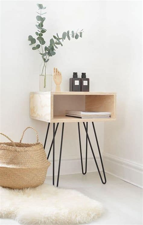 Hairpin-Leg-Nightstand-Diy