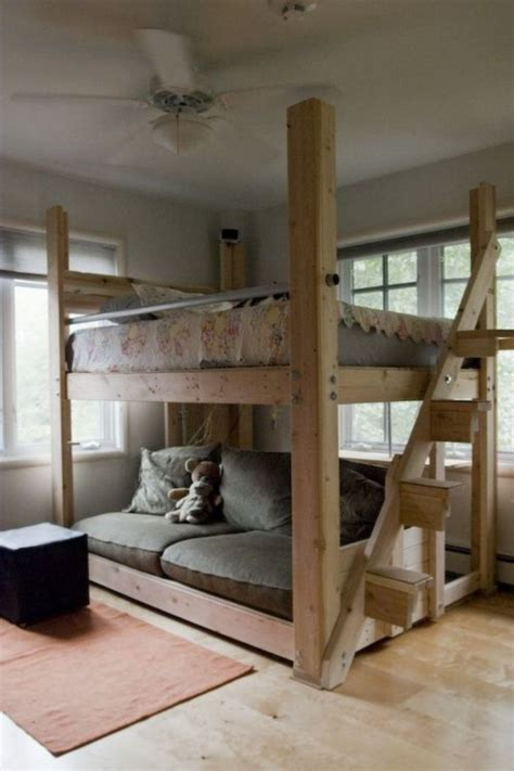 Half Loft Bed Diy Designs