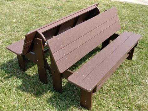 Half-Picnic-Table-Plans