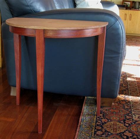Half-Round-End-Table-Plans