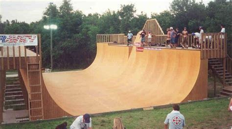 Halfpipe Plans And Material