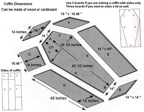 Halloween Coffin Plans Free