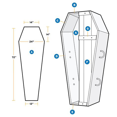 Halloween Coffin Plans How To Build