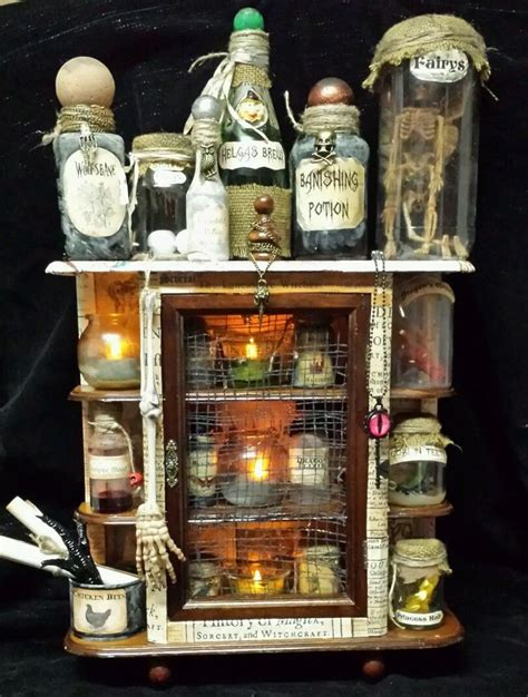Halloween Prop Making Diy Apothecary Cabinet