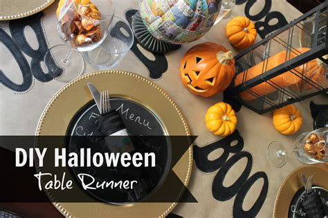 Halloween-Table-Runner-Diy