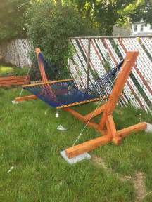 Hammock Stand Wood Diy Ideas