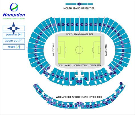 Hampden Seating Plan East Stand