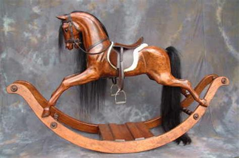 Hand Carved Rocking Horse Plans