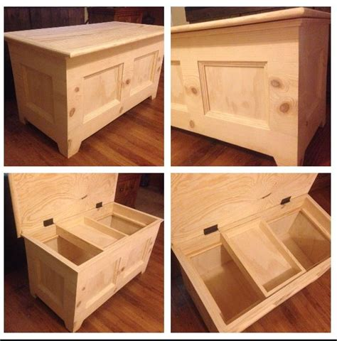 Hand Made Wooden Toy Box Plans