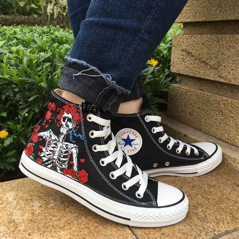 Hand Painted Converse Sneakers
