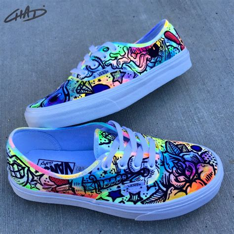 Hand Painted Vans Sneakers