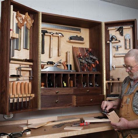 Hand Tool Cabinet Plans