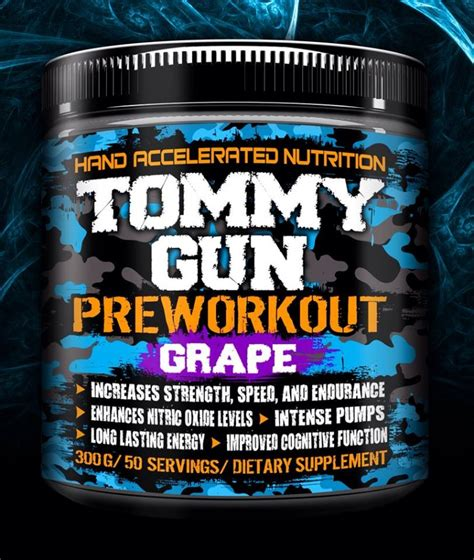 Hand Accelerated Nutrition Tommy Gun And My Tommy Gun Believes You Lyrics