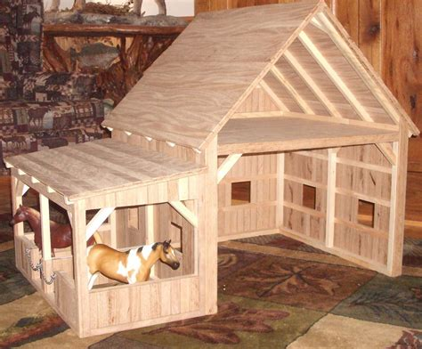 Handcrafted Wooden Toy Barns And Stables