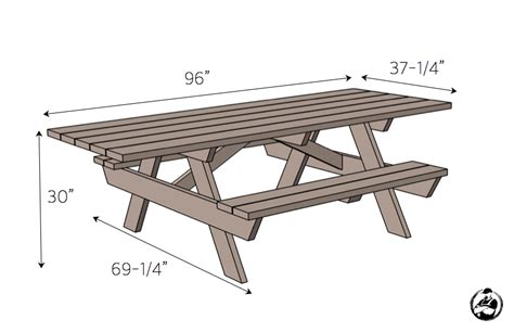 Handicap Picnic Table Diy Plans
