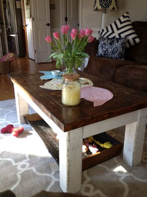 Handmade Coffee Table Diy Pottery