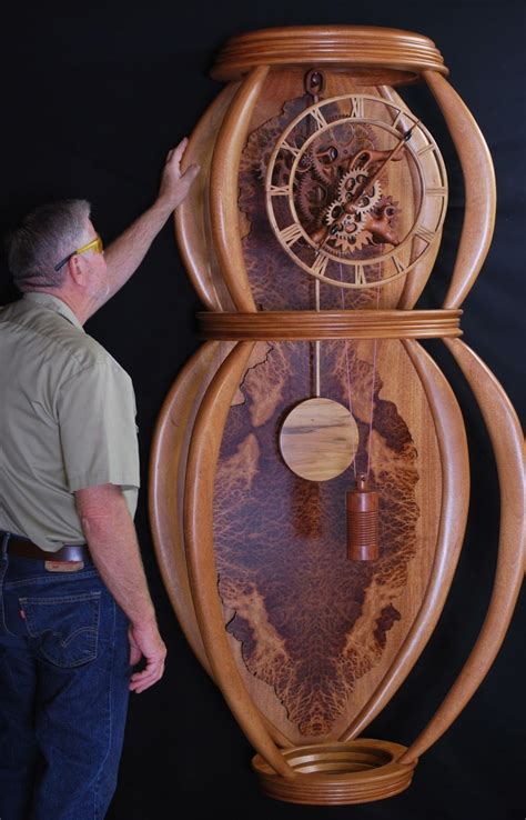 Handmade Wooden Clock Plans