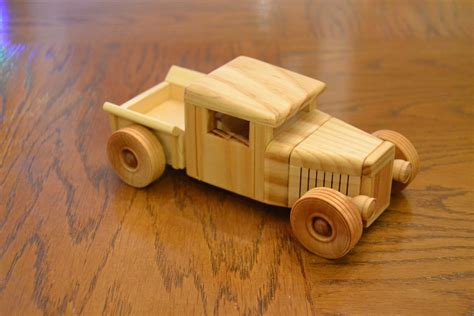 Handmade Wooden Toy Truck Plans