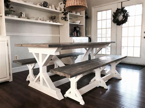 Handmade-Farm-Tables-And-Benxhes