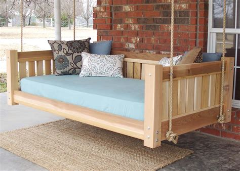 Hanging Bed Plans Outdoor