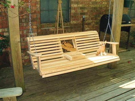 Hanging Bench Swing Plans