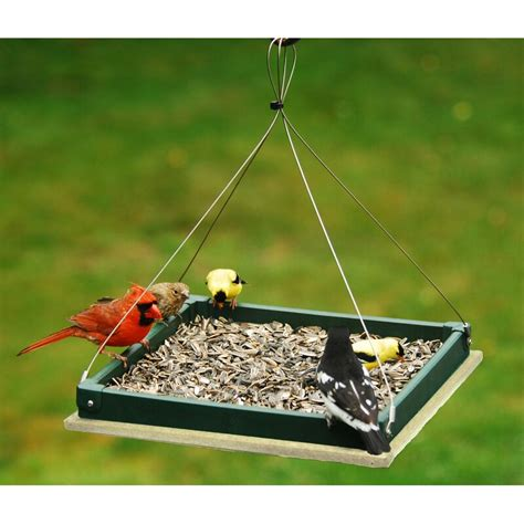 Hanging Bird Feeder Tray Plans
