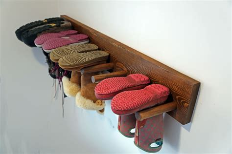Hanging Boot Rack Plans