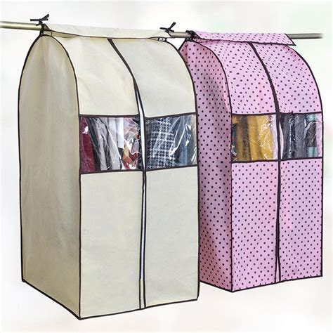 Hanging Clothes Storage Dust Cover Diy Box