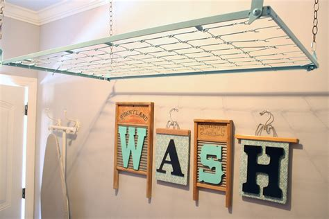 Hanging Drying Rack DIY