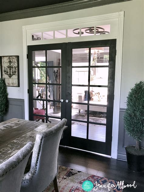 Hanging French Doors Diy