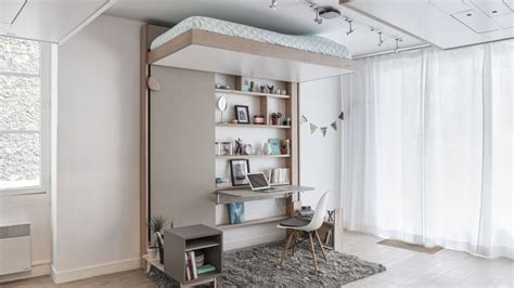 Hanging Hideaway Loft Bed Design