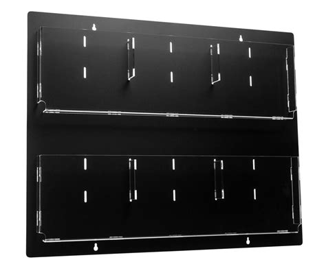 Hanging Magazine Rack With Adjustable Pockets