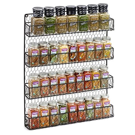 Hanging Spice Rack For Pantry Door