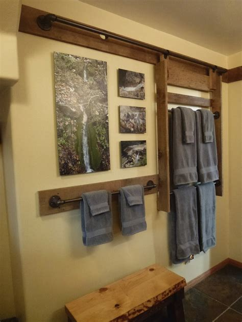 Hanging Towel Rack Diy