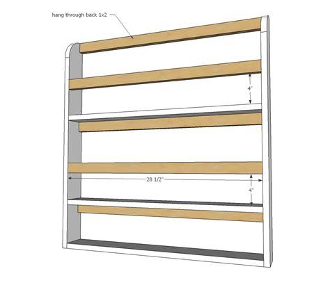 Hanging-Plate-Rack-Plans