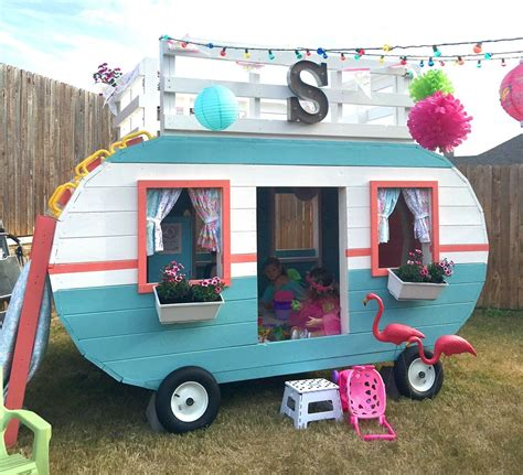 Happy Camper Playhouse Plans