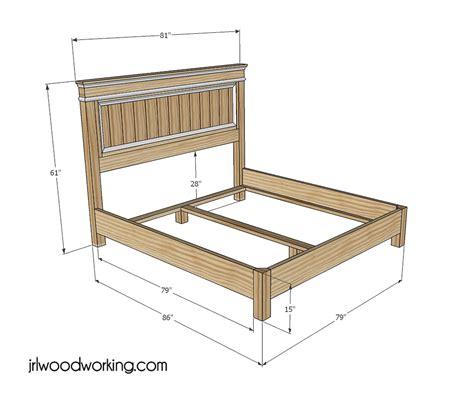 Hardwood-Bed-Plans