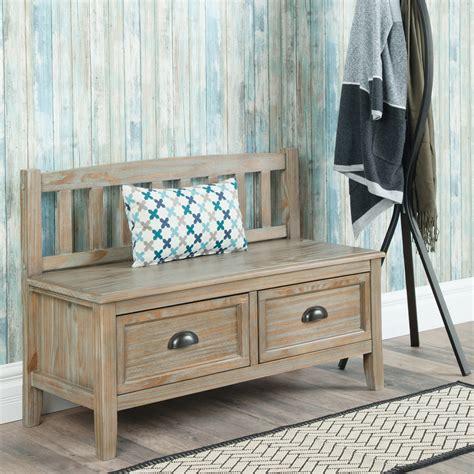 Hardwood-Storage-Bench