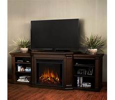 Best Hardwood entertainment center with fireplace