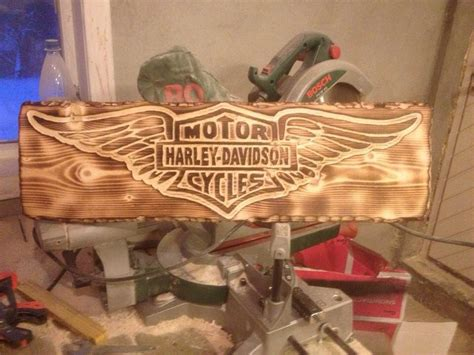 Harley-Davidson-Wood-Projects
